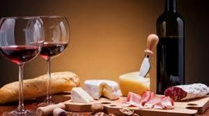 emparejamiento de alimentos y vino