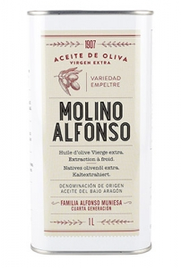 Virgin Olive Oil Extral-Molino Alfonso-5L