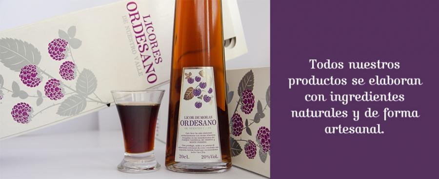Qualitätsliköre vom Weingut Ordesanos Liköre