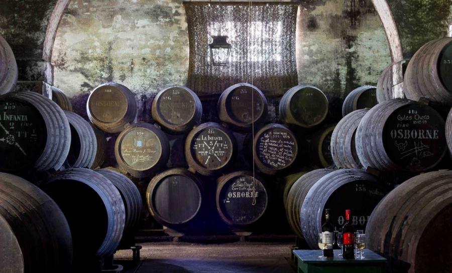Jerez Weine aus dem Weingut Osborne